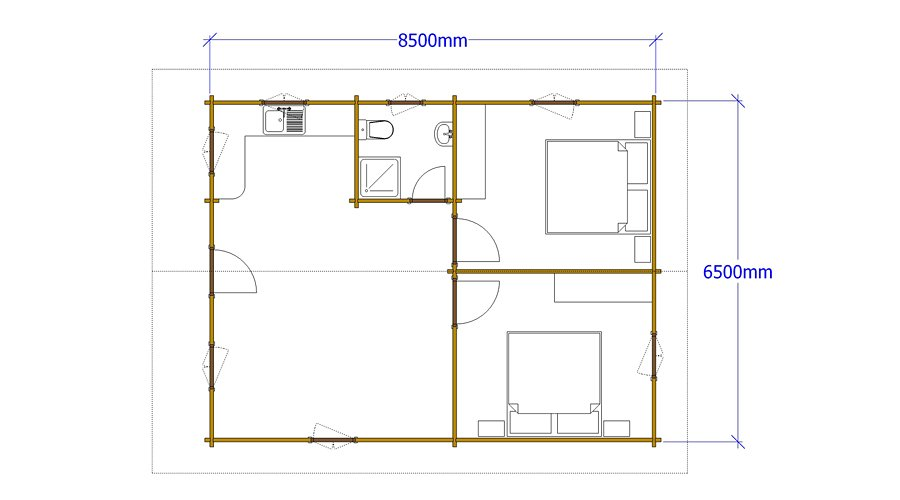 Építési tervrajz készítés